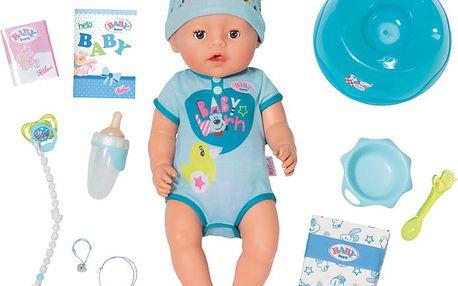 ZAPF Panenka Baby Born chlapeček