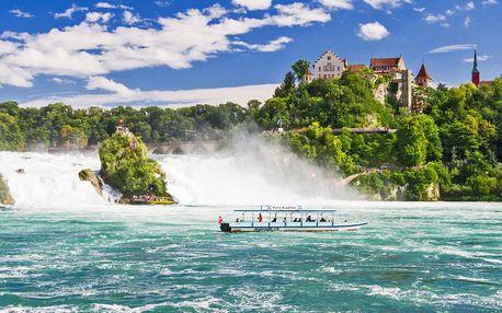 Víkend ve Švýcarsku: Rýnské vodopády i Curych