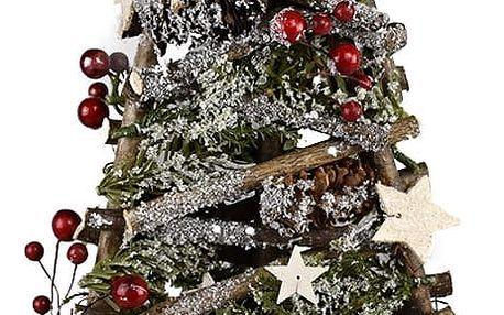 Vánoční ratanový stromek Arbre, 48 cm