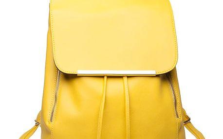 Dámský žlutý batoh Beate 1669