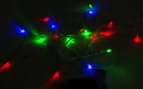 LEDLight Vánoční osvětlení - 20 LED barevné