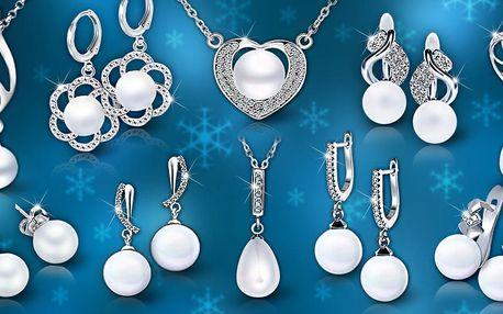 Elegantní perlové šperky