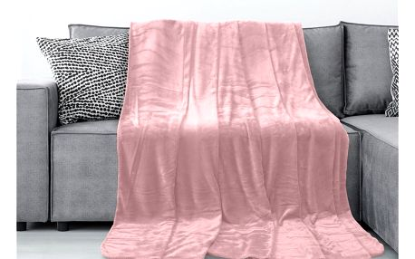 AmeliaHome Deka Tyler světle růžová, 150 x 200 cm