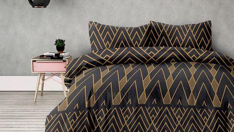 DecoKing Flanelové povlečení Decoratif, 140 x 200 cm, 70 x 90 cm