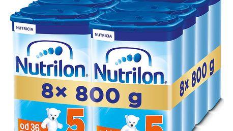 8x NUTRILON 5 (800g) - kojenecké mléko