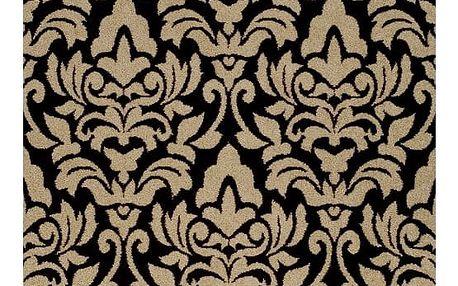 Tempo Kondela Kusový koberec Lorens béžová, 67 x 120 cm
