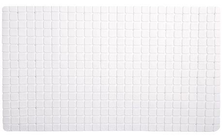 Koopman Protiskluzová podložka do koupelny bílá, 69 x 39 cm