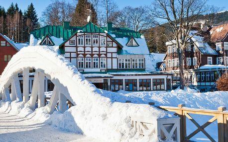 Štědrý den ve Špindlerově Mlýně: 5 dní přímo ve skiareálu Svatý Petr