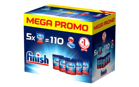 FINISH All-in-1 Max 5 x 22 ks Mega box (110 ks) – tablety do myčky