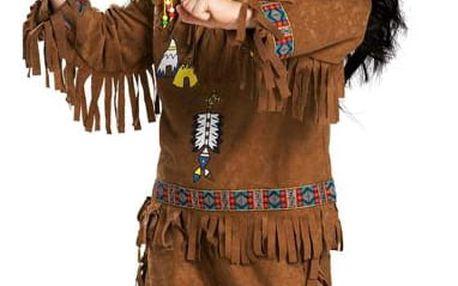 Indiánský kostým chlapecký