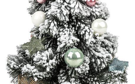 Vánoční stromeček Orbio šedá, 30 cm