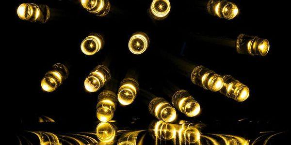 VOLTRONIC® 59793 Vánoční světelný déšť 400 LED teple bílá - 10 m + ovladač3