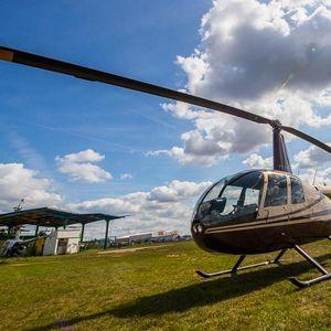 Let vrtulníkem až na hodinu s parádním výhledem na krajinu