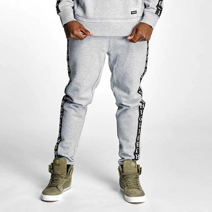 Thug Life / Sweat Pant Wired in grey 3XL