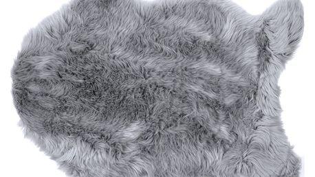 Bo-ma trading Kožešina Claire šedá, 60 x 90 cm