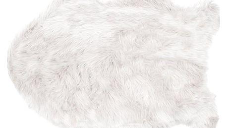 Bo-ma trading Kožešina Claire bílá, 60 x 90 cm