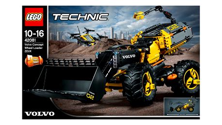 LEGO® TECHNIC 42081 Volvo koncept kolového nakladače ZEUX