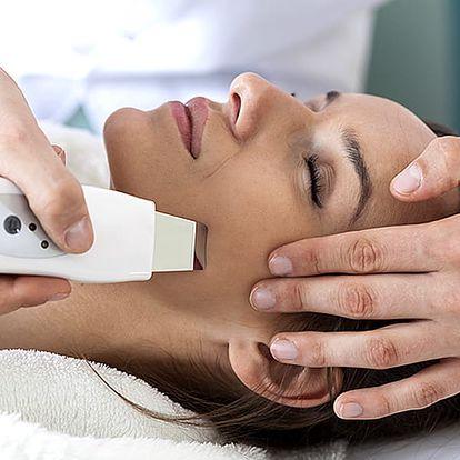 Ultrazvukové ošetření zralé i suché pleti proti vráskám + bonus masáž obličeje, krku a dekoltu.