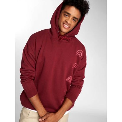 Just Rhyse / Hoodie Culpina in red XL