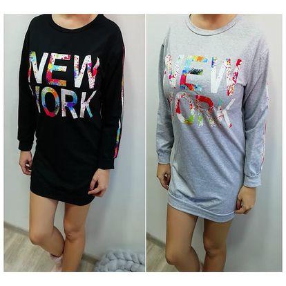 Dámské mikinové šaty New York