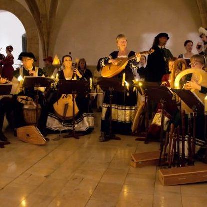 Vstupenka na adventní koncert orchestru Chairé