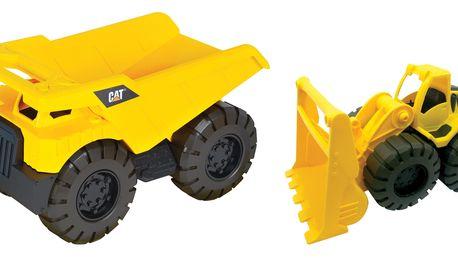 CAT Nákladní auto s nakladačem