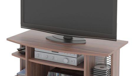 TV stolek KATY, švestka DOPRODEJ