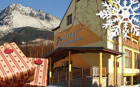 Vánoční pobyt pod Gerlachem ve 3* hotelu Avalanche s polopenzí