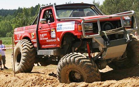 Adrenalin za volantem truck trialového speciálu