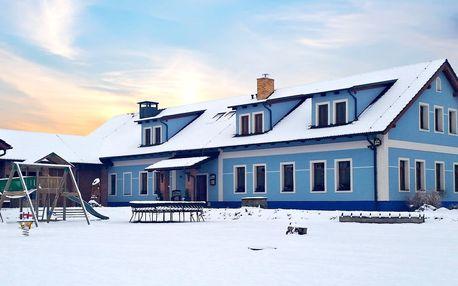 Rodinný pobyt na farmě na moravském venkově