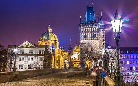 Praha v oceněném 4* hotelu u centra