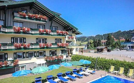 Rakouské Alpy s bazénem a dětmi zdarma
