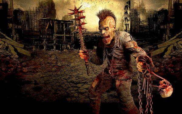 Strašidelný dům i Zombie apokalypsa pro 1 osobu