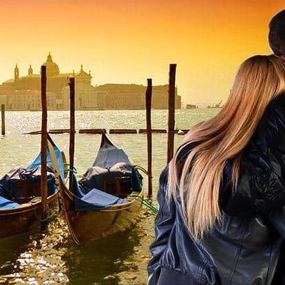 6denní zájezd pro 1 do Benátek, Verony, Florencie, Říma a Vatikánu
