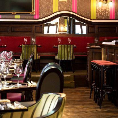 4chodové francouzské menu i s párováním vína