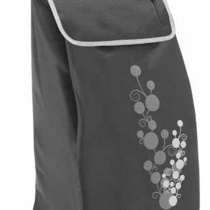 Gimi Nákupní taška na kolečkách Twin šedá, 56 l