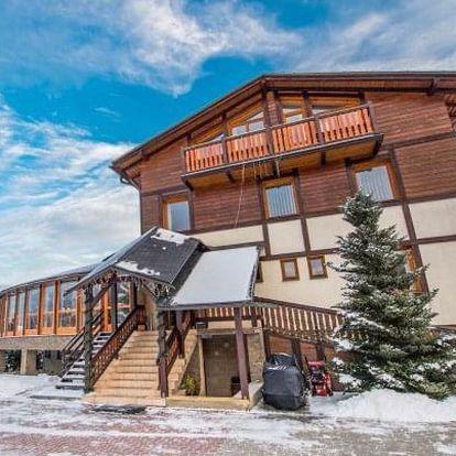 Vysoké Tatry u ski areálů s wellness