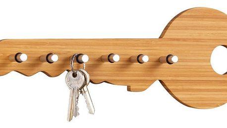 Věšák na klíče, 6 háčků, ZELLER