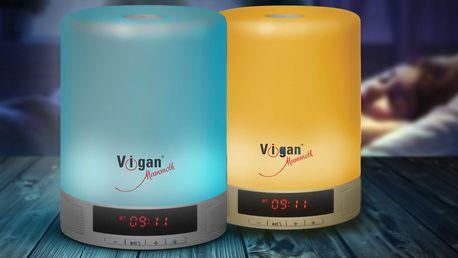 Dotyková lampička Vigan s bluetooth reproduktorem