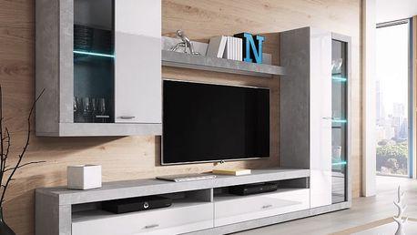 Moderní obývací stěna KLAUS