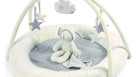 MAMAS&PAPAS Hrací deka s hrazdou Králíček