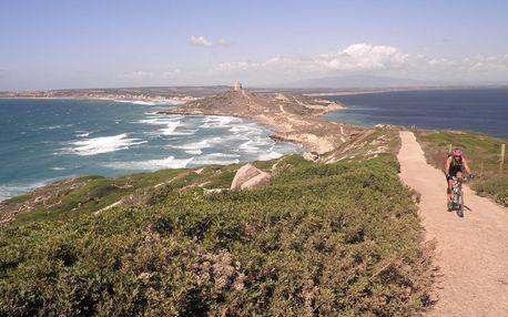 Sardinie - cykloturistika - 13 dnů s dopravou, polopenzí a ubytováním v kempu