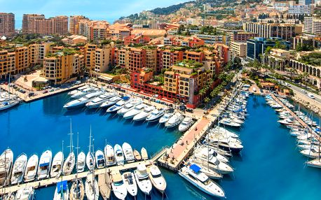 Víkendový výlet do Monaka s průvodcem