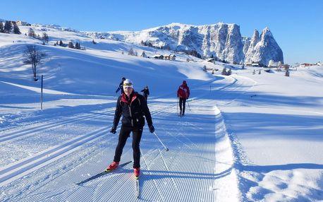Běžkování v Dolomitech - 6 dnů s dopravou, ubytováním a snídaní