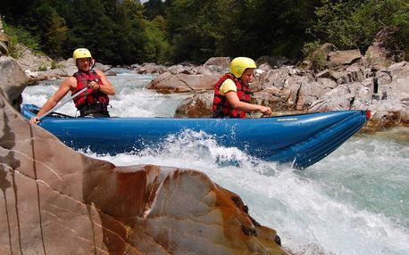 Řeky Slovinska - Krka, Sáva Bohinjka, Sáva Dolinka, Soča a Koritnica - 5 dnů s dopravou, ubytováním a polopenzí