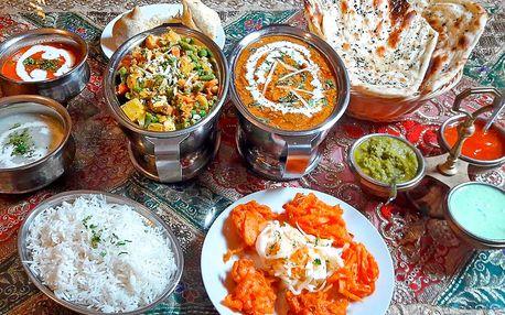 Pestré nepálské menu pro 2 či 4 osoby
