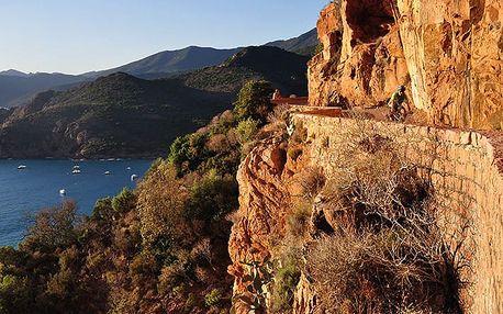 Korsika cyklistická - 13 dnů s dopravou, ubytováním v kempu a polopenzí