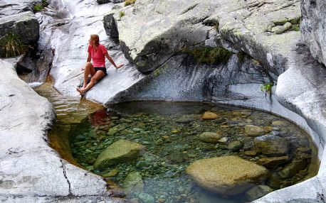 Korsika - Vysokohorská turistika - 13 dnů s dopravou, ubytováním a polopenzí