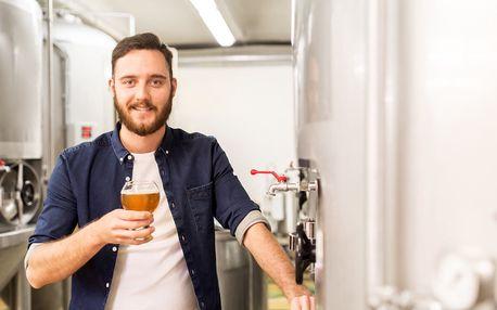 Prohlídka rodinného pivovaru i s ochutnávkou piva