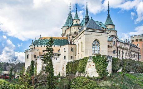 4* romantický pobyt v lázeňském městě Bojnice